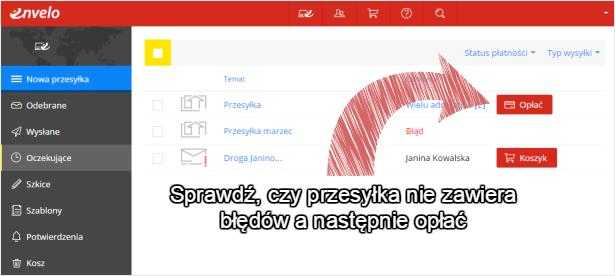 Kliknij na czerwony przycisk