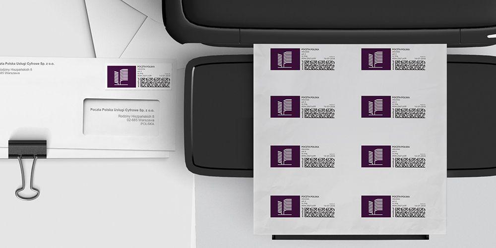 Znaczki z własnym logo druk